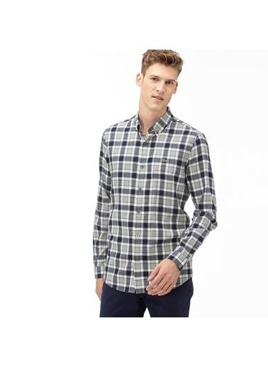 Lacoste Erkek Slim Fit Gömlek CH2021.21L Lacivert
